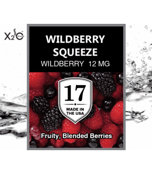 Wildberry Squeeze – Sabroso ,mezclados con sabor a fruta. Nicotina (12 Mg)