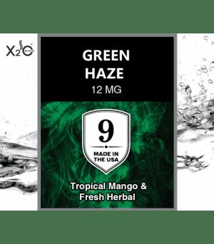 Green Haze – Mango tropical y té de hierbas frescas. Nicotina (12 Mg)
